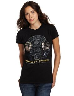 $10  Amazon.com: The Hunger Games District 12 Girls Womens Juniors T-Shirt: Clothing.... For all the team Peeta & Katniss fans