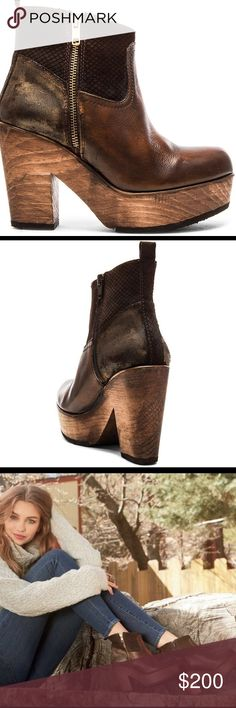 NWOB Esmeralda Clog Booties in Brown by Matisse These are the perfect clog booties made by Matisse in a size 10! I haven't gotten a chance to wear them and wanted to see if anyone was interested! These are absolutely fabulous! Brand new and bought at LF, not Free People Free People Shoes Ankle Boots & Booties