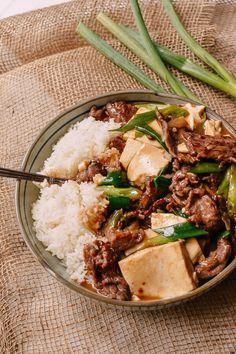 Beef Tofu Stir-Fry, by thewoksoflife.com