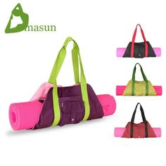 Canvas bag portable fashion yoga bag yoga mat bag-inYoga Bags from Sports Yoga Fashion, Sport Fashion, Mesh Yoga Leggings, Diy Sac, Yoga Equipment, Yoga Mat Bag, Yoga Accessories, Best Yoga, Pouch