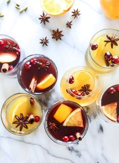 mulled wine, two ways I http://howsweeteats.com
