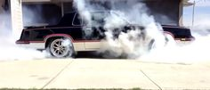 Pulling A Massive AWD Burnout In Your Driveway Is An Excellent Way To Upset Your Neighbours