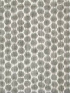 """Dotkat Mineral - Echo Design Fabric, 100% cotton fabric, Ikat dot print, multi purpose fabric, 15,000 double rubs, Made in America. Repeat; V 6.75"""" x H 6.75"""". 54.5"""" wide. CALENDERED UNBRANDED SOIL & STAIN RELEASE FINISH"""
