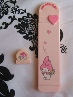 My Melody Vintage 1976 Comb & Mirror Set & Clip | Flickr - Photo Sharing!