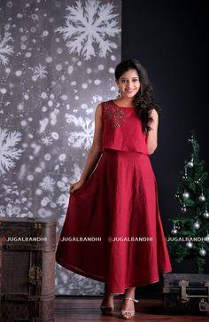 Crop Dress, Floral Maxi Dress, The Dress, Party Wear Dresses, Girls Party Dress, Kerala Engagement Dress, Bride Reception Dresses, High Low Evening Dresses, Wedding Dress With Pockets