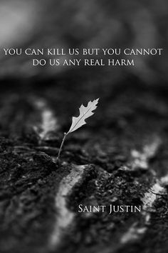 Saint Justin the Philosopher and Martyr (AD 100-165; celeb. June 1st)