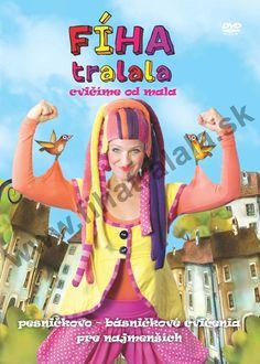 Nové DVD Fíha tralala -  cvičíme od mala vzniklo pre najmenších diváčikov, aby si spolu s Fíhou namiesto sedenia pri televízore, či počítači dobre zacvičili.