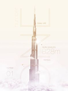 Digital Posters Showing World Highest Buildings