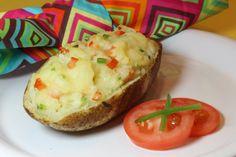 Tex Mex Twice Baked Idaho Potato  #photatocontest @Amanda Riggers Potatoes