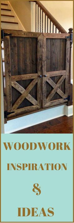 Woodworking Plans, Projects and Ideas http://vid.staged.com/aFks