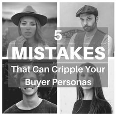 Buyer personas are an essential component of developing marketing strategies, but if you can't build them correctly, you risk pushing your business towards the wrong audience. Make sure you talk to those who want to listen and market to who matters. Check out these 5 dangerous buyer persona mistakes and use them to avoid relying on incorrect data.