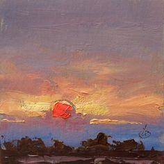 SUNSET by TOM BROWN by Tom Brown
