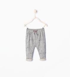 Shiny dove trousers - Skirts and trousers - Baby girl | 3 months - 4 years - KIDS | ZARA United Kingdom