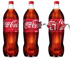 Coca- Cola's Limited Edition Bow Label Bottles — The Dieline - Branding & Packaging