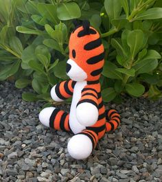 Made to Order Small Huggable Hobbes FREE by HuggableFriends