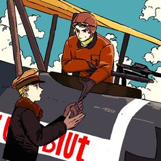 Born a soldier from the horseback to the skies. and the legend never dies - the Red Baron, ace pilot from Prussia: man and machine, and nothing there in between Hetalia Germany, Germany And Prussia, Gilbert Beilschmidt, Axis Powers, Baron, Siblings, My Hero Academia, Pilot, Hate