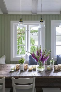 Country House Interior, Painting Wallpaper, Scandi Style, Home Fashion, Cottages, Farmhouse Style, House Styles, Heart, Places