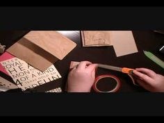 This video gives you the How To for assembling the album, not just examples of embellishing it. So watch this first to learn how to make the album then watch others for inspiration for decorating your creation.    How to Make a Paper bag Album Part 1  #crafts #gifts #handmade