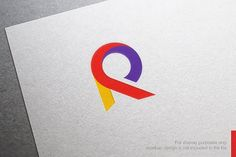 Abstract Letter R Logo by nospacestore on @creativemarket