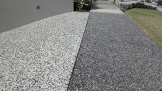 Exposed Aggregate Driveway, Concrete Driveways, Exposed Concrete, Brick Pavers, Types Of Concrete, Concrete Finishes, Driveway Materials, Cement Driveway, Driveway Installation