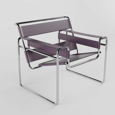 3d models: Arm chair - Wassily chair Wassily Chair, Armchair, Modern, 3d Rendering, Autocad, Iron, Interior Design, Home Decor, Lounge Chairs