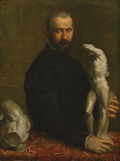 Alessandro Vittoria (1524/25–1608), ca. 1570  Paolo Veronese (Paolo Caliari) (Italian, Venetian, 1528–1588)  Oil on canvas