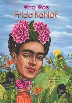 You can always recognize a painting by Kahlo because she is in nearly all--with her black braided hair and colorful Mexican outfits. A brave woman who was an invalid most of her life, she transformed