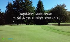 Congratulations #DustinJohnson  I'm glad you won by multiple strokes. #golf #usga #usgarules #golfer #golfcourse #golfchat #golfing #golfchannel #livingthegreen #pgatour #pga #lpga #usopen #oakmount