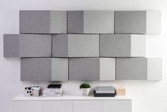 Triline Acoustical Wall Panel de Abstracta | Panneaux muraux