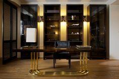 DOM Edizioni: WilliamWritingDesk, DukeChair, LeonardBookcase- SaloneDelMobile2011 #funriture #architecture #interiordesign #arredamento