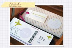 Geldgeschenke_Hochzeit  http://www.fraeulein-k-sagt-ja.de/gedruckt-feine-papeterie/boardingpass-fur-geldgeschenke