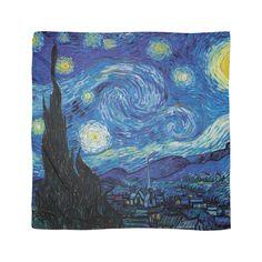 Vincent Van Gogh - Starry Night Scarf by AbidingCharm
