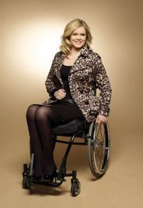 Shannon Murray. Paraplegic, model, first woman to be featured on High Street in the UK.  >>> See it. Believe it. Do it. Watch thousands of SCI videos at SPINALpedia.com