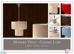 DOT's Modern Twist Ceiling Lamp