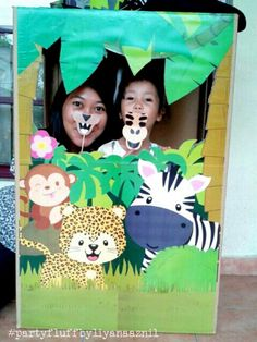 Jungle Animals photo booth!