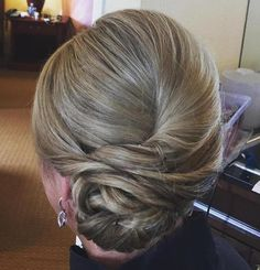 Formal Twisted Chignon Updo