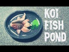 ♥ Polymer Clay Fancy GoldFish Pond Tutorial :D - YouTube