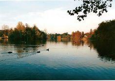 Lac du parc, Lyon, France