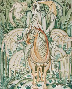 Le Prince et la meute, 1912 Huile sur toile 99,5 × 80,5 cm Lisbonne, CAM / Fundação Calouste Gulbenkian Inv. 86P153