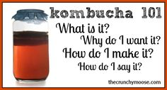 Kombucha: What Is It, How To Say It, and How To Make  I have tried several brands from health food stores and prefer the Synergy brand over most. I am interested in making my own as I am upping the amount I drink each day.