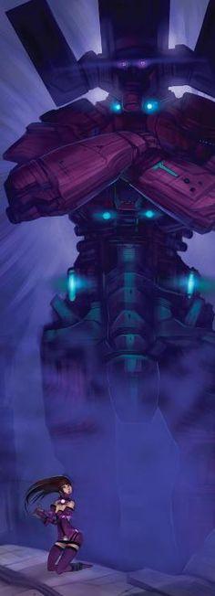 Galactus: Galactus and Galacta - Galacta #3