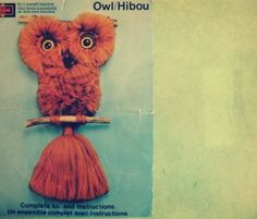"These ""lovely"" macrame owls adorned just about house or apartment wall in the 70's!"