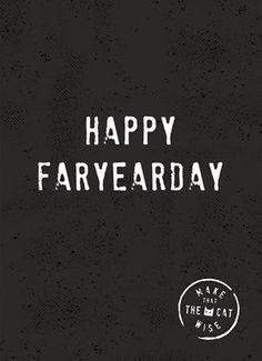 Happy faryeardag! #Hallmark #HallmarkNL #Makethatthecatwise #verjaardag #felicitatie