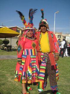 El traje tipico bolivia