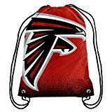 NFL Football Team Logo Drawstring Backpack Bag - Pick Team (Atlanta Falcons) at Amazon.com