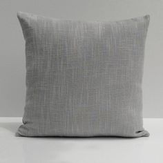 Gray Textured linen Decorative Throw Pillow Cover with Gray polyester underlining,Lumbar Pillow,Accent Pillow,Toss Pillow,Cushion Cover. (16'x20') >>> More info could be found at the image url. (This is an affiliate link) #CozyHomeDecor