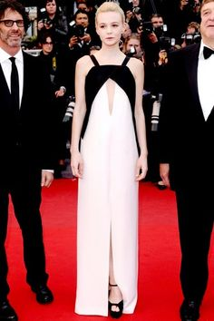 Cannes Film Festival 2013 Fashion Photos - Carey Mulligan in Vionnet from Dresses 2013, Nice Dresses, Celebrity Look, Carey Mulligan, Celebs, Celebrities, Red Carpet Looks, Star Fashion, Cannes