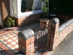 14 Best Brick Wall Front Garden Images In 2017 Victorian Front