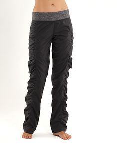 I love these pants -- I wear them to camp, to the ski hill, around the house, to run errands in...