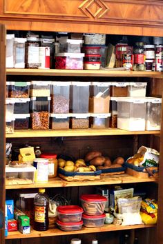 A Maine inn's breakfast pantry, on The Perfect Pantry.